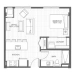 Studio Apartment Home – Style 0A