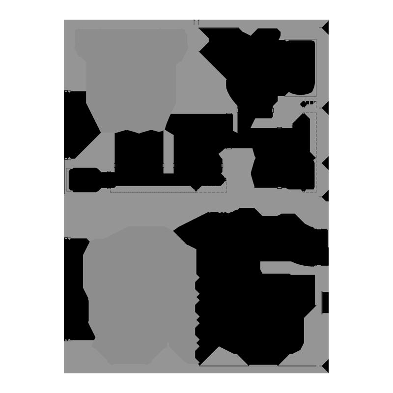 Apartment floor plans vantage on the park for Ada apartment floor plans